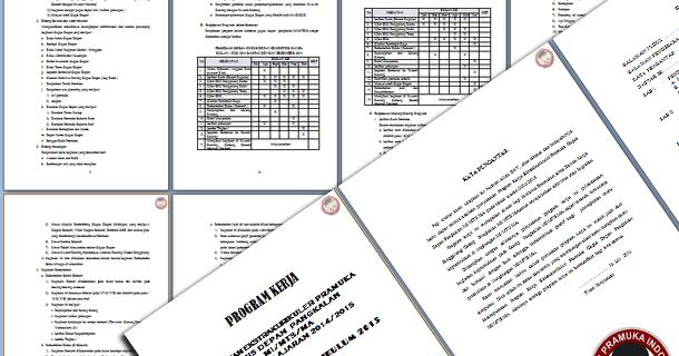 Contoh Program Kerja Kegiatan Ekstra Kurikuler Pramuka Implementasi