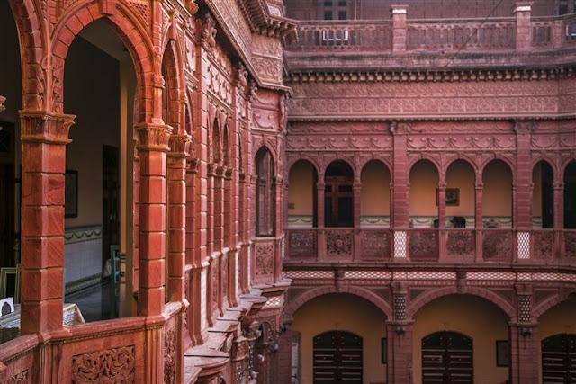 bhanwar nivas palace rampuria haveli bikaner rajasthan india