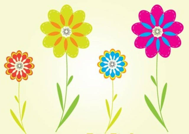 Pictures Of Flowers Vector