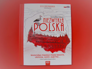 kolorowanka dla dorosłych, Niezwykła Polska