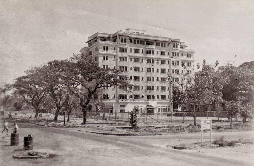 The Admiral Apartments Back In Day Photo Probably Taken After War Manila Nostalgia John Harper