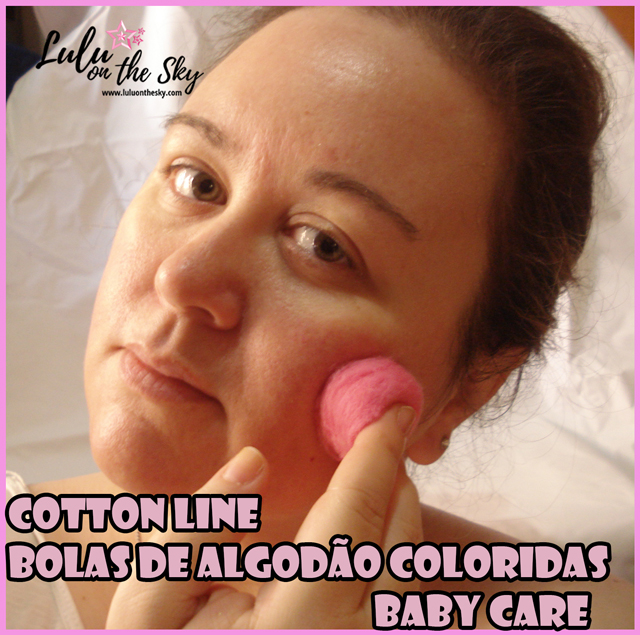 Cotton Line Bolas de Algodão Coloridas Baby Care: Eu Testei