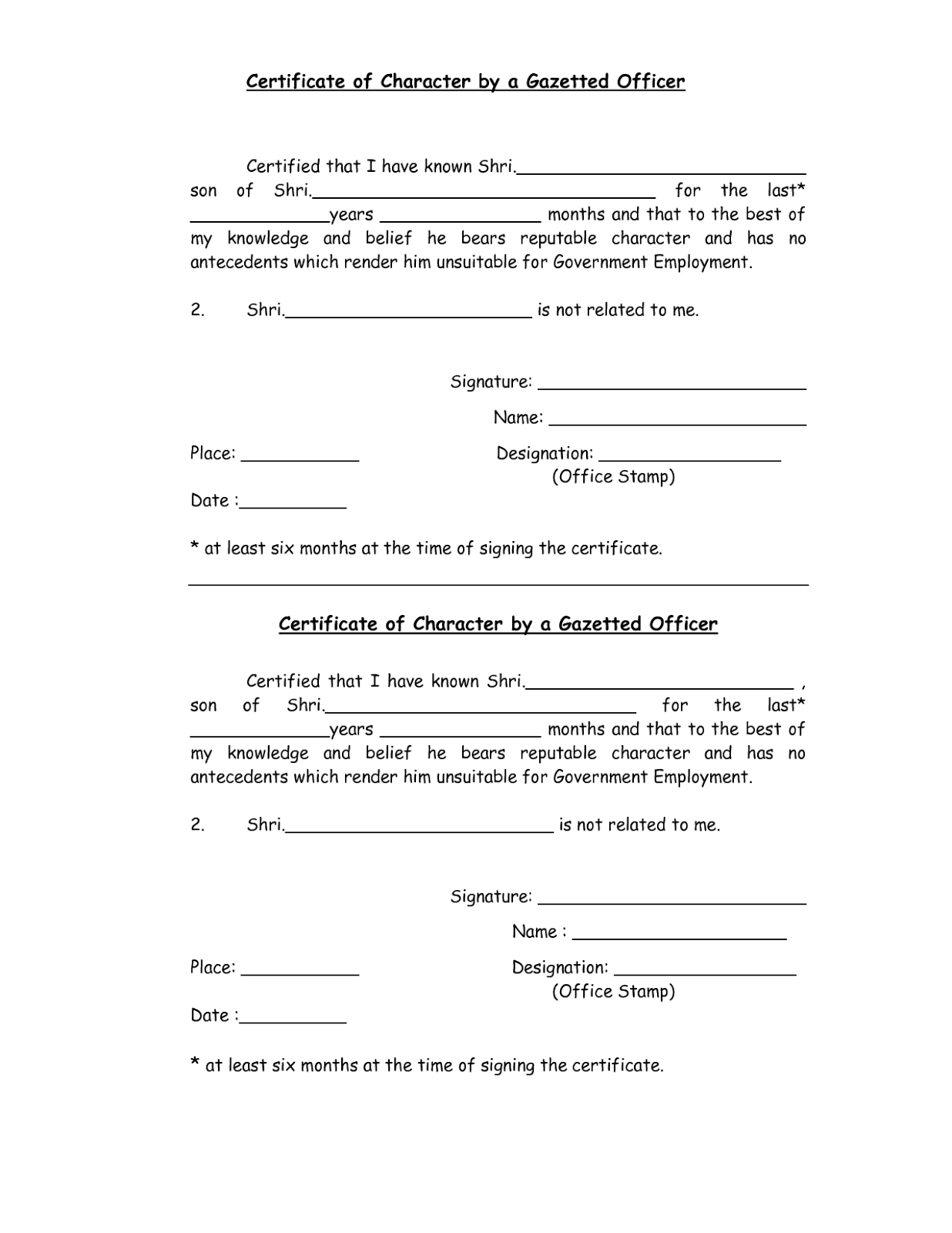 Conduct certificate format pdf for bank choice image certificate sample of character certificate format for bank interview gallery character certificate sample for bank job choice yadclub Image collections
