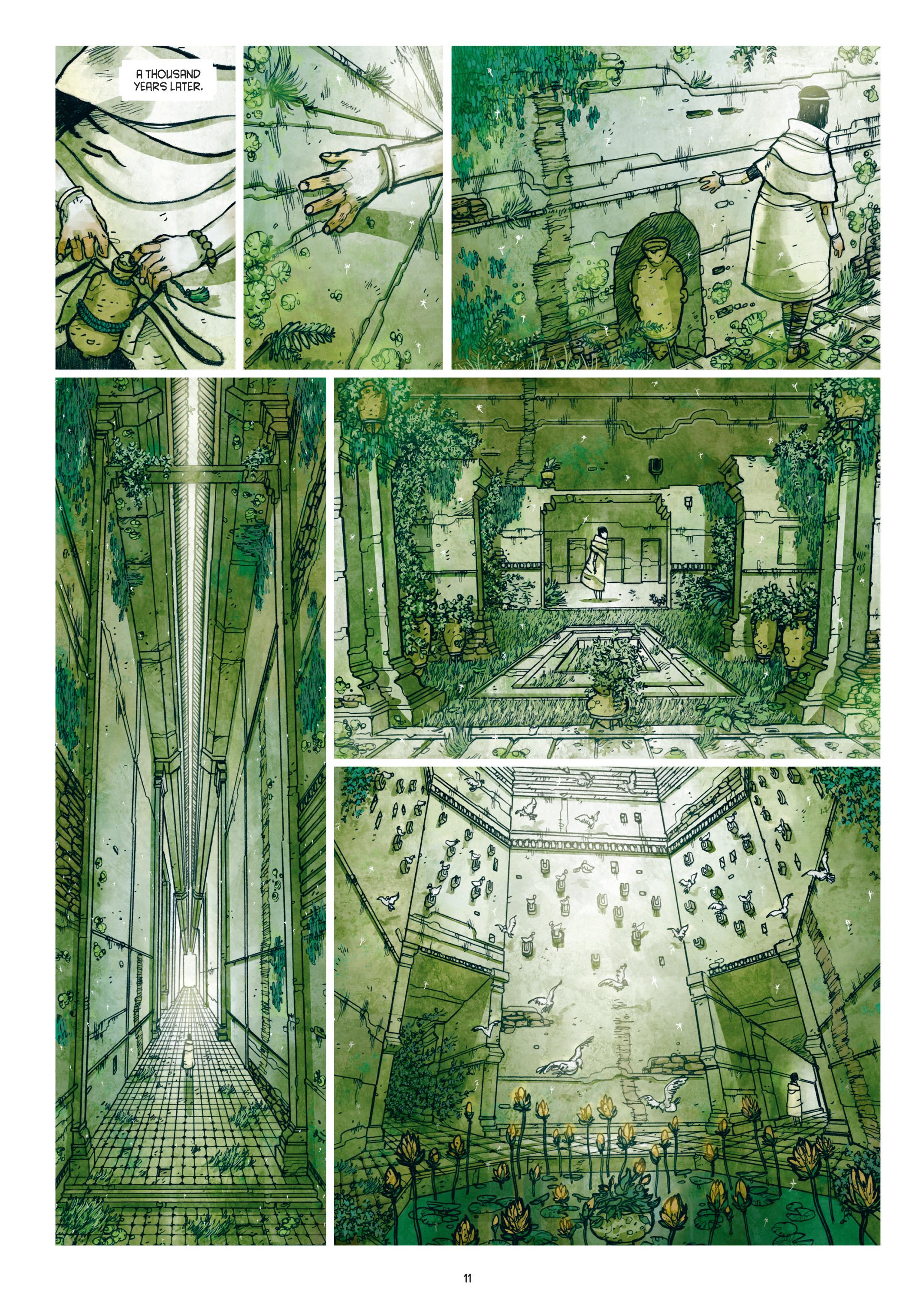 Read online Adrastée comic -  Issue #1 - 12