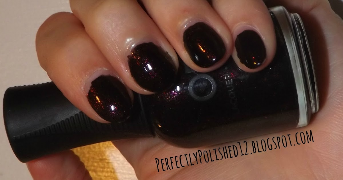 "Perfectly Polished 12: Orly ""Darkest Shadow"""