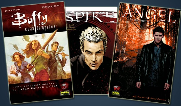 Cómics Buffy temporada 8 y 9