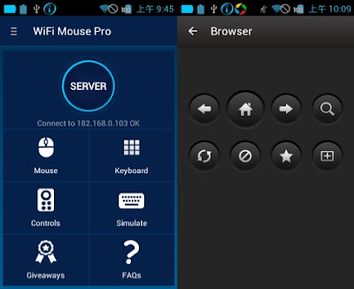WiFi Mouse Pro v3.0.6 Apk Full Features -akozonet