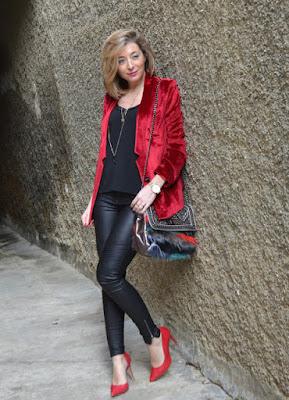 propuestas de zapatos rojos