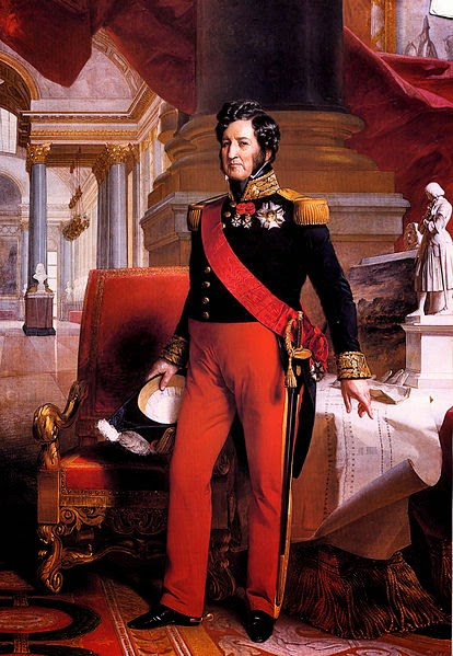 Louis Philippe by Franz Xaver Winterhalter, 1841