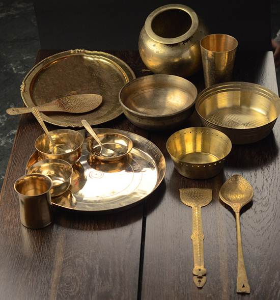 brass-crockery