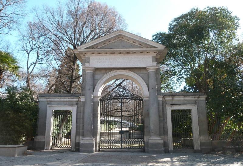 Puerta Real del Jardín Botánico