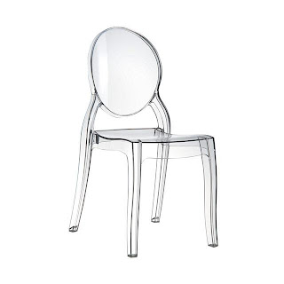 modern cheap chair for dining table dining room kitchen clear acrylic ghost chair