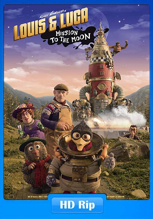 Louis and Luca Mission to the Moon 2018 720p WEB-DL x264 | 480p 300MB | 100MB HEVC Poster