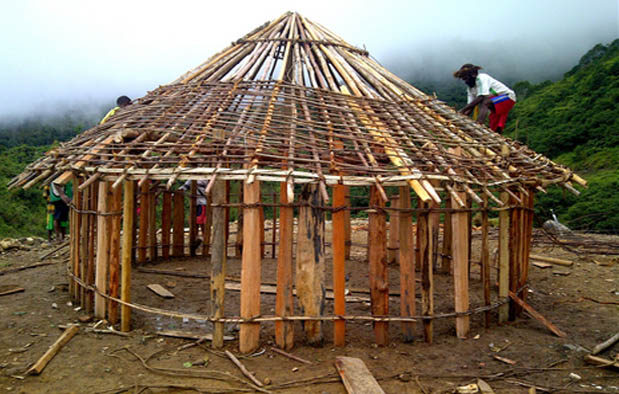 Rumah Adat Papua (Rumah Honai), Gambar, dan Penjelasannya
