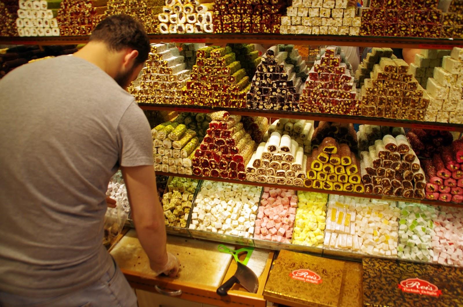Turkish delight at Grand Bazaar Istanbul