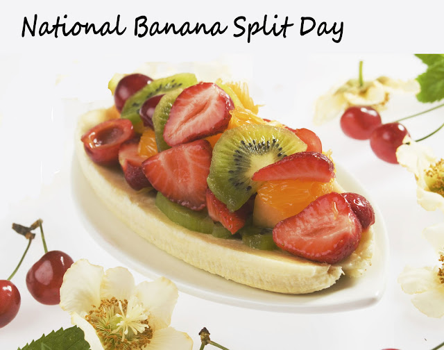 ... Online Blog: August 25, National Banana Split Day - Fruit Festival