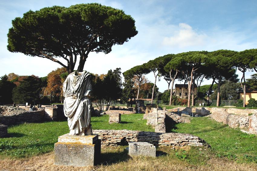 Ostia Antica jest jednym z najciekawszych parków archeologicznych we Włoszech