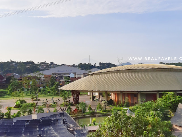 View dari kamar The Wujil Resort and Convention