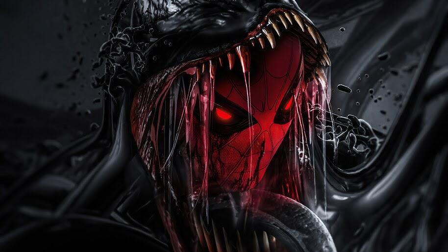 Spider-Man, Venom, Symbiote, 4K, #6.2143