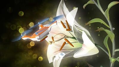Científics desenvolupen drons capaços de pol·linitzar flors