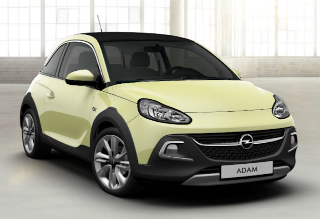 opel adam dancing green