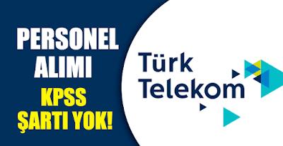 Türk Telekom personel alımı