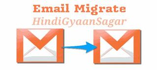 Email Migrate karne ka tarika