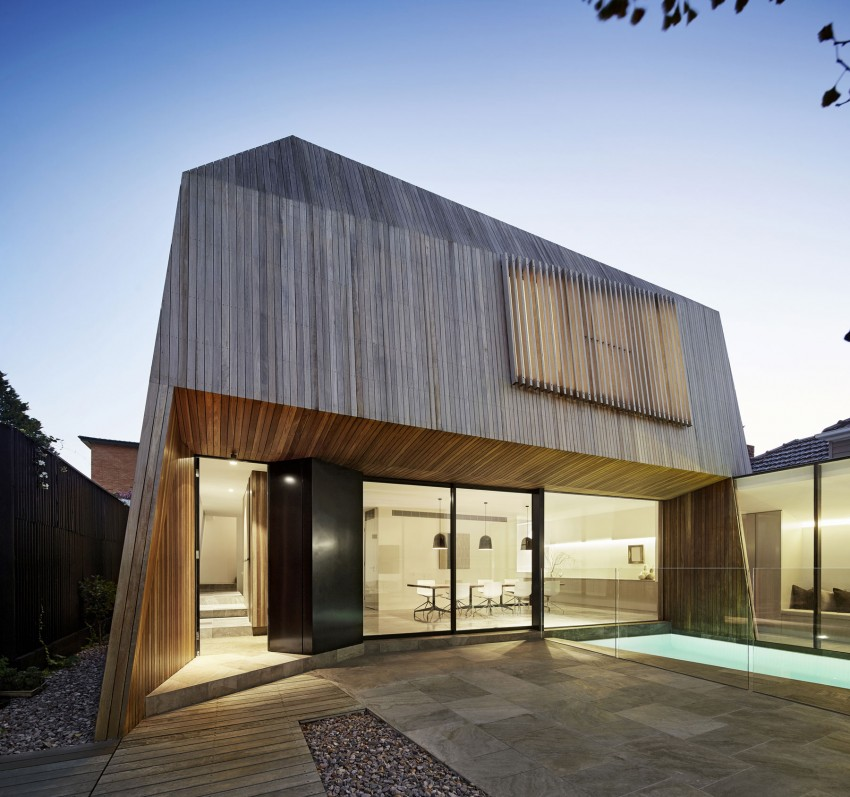 House 3   Contemporary House With Wooden Facade In Victoria