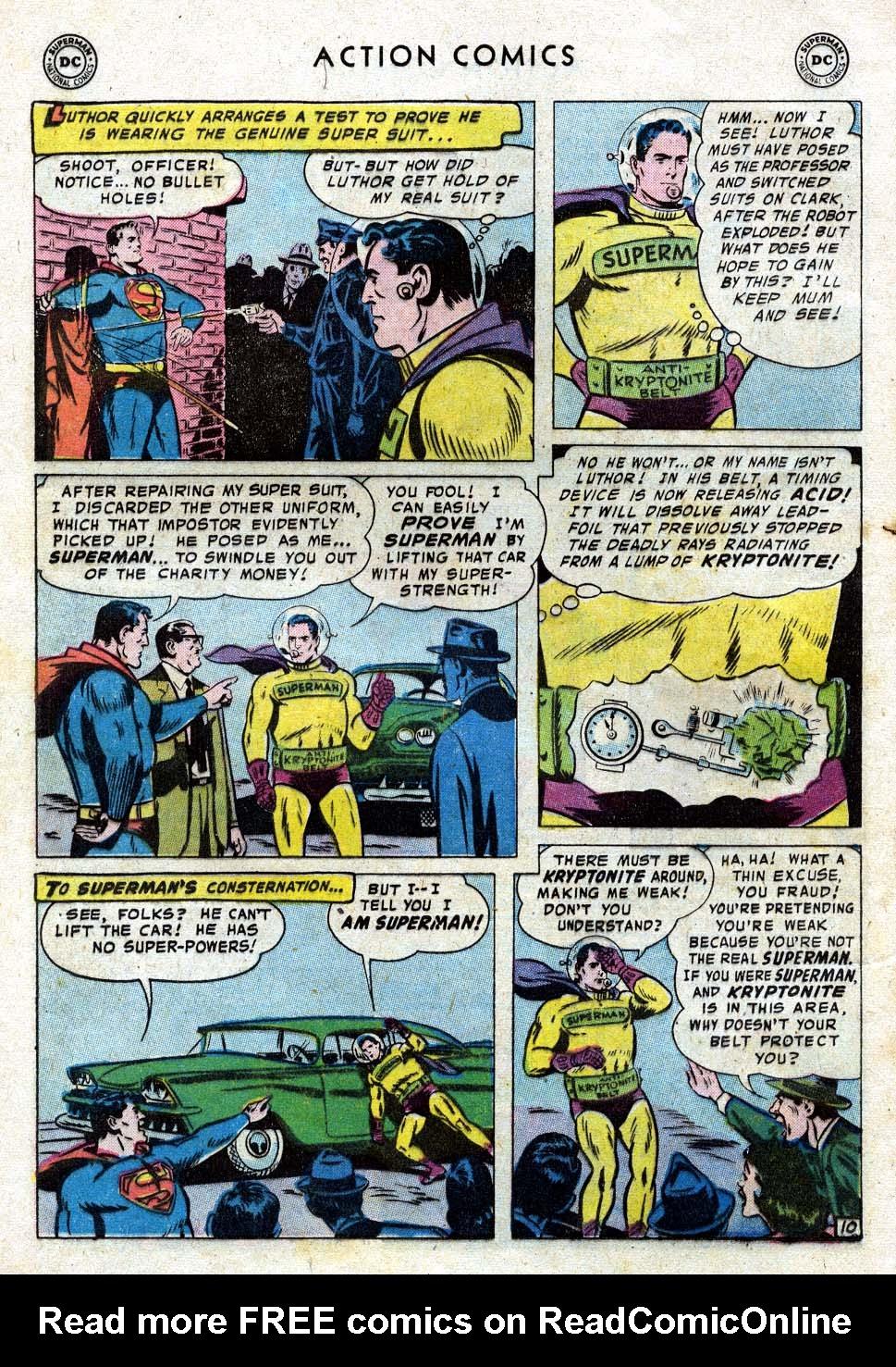 Action Comics (1938) 236 Page 11