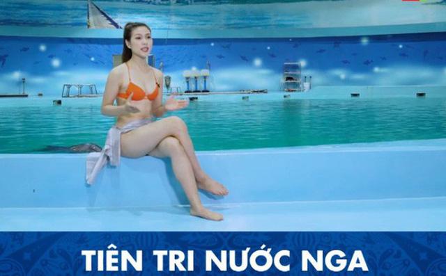 Cận cảnh vẻ nóng bỏng của MC mặc bikini dẫn World Cup gây xôn xao Tùy Phong | 22/06/2018 06:00 PM