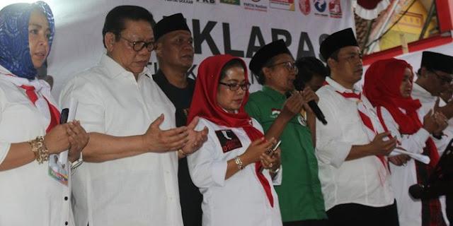 Agung Laksono minta tim Jokowi-Ma'ruf di Malang tak gunakan cara kotor