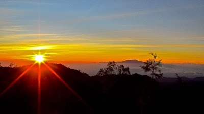 Sunset Gunung Bromo