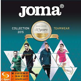Télécharger le catalogue Joma Sport 2015 en pdf en cliquant sur l'image.
