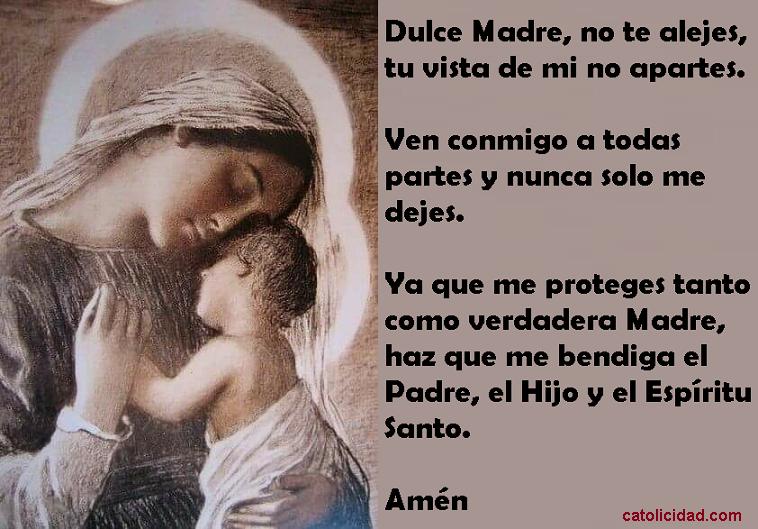 Catolicidad: DULCE MADRE