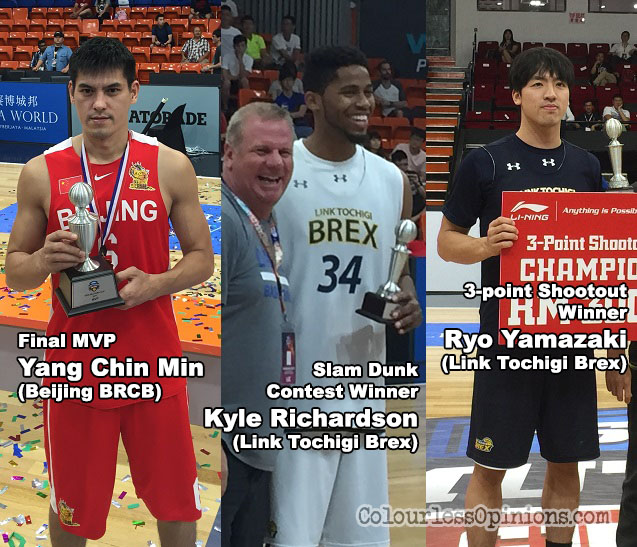 seri mutiara cup 2017 mvp winner yang chin min dunk contest kyle richardson three-point ryo yamazaki