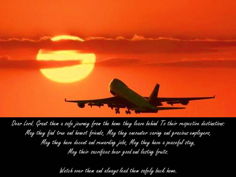 Prayer Christian Travelers