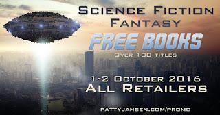 Free Sci-fi and Fantasy eBooks Oct. 1 & 2, 2016