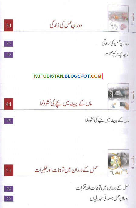 Contents sample pages of the urdu book quot agar aap maan ban ne wali hai
