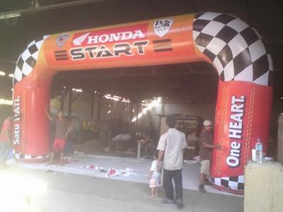 Balon Gate Honda