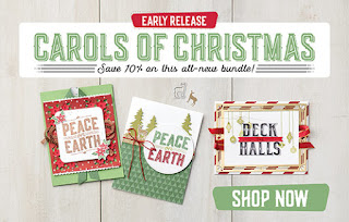 Stampin' Up! Carols of Christmas Early Release Bundle Order SU Stampinup Products from Mitosu Crafts' UK Online Shop and SAVE NOW