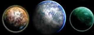 Star Wars A Nox, a Tython es a Kalimahr bolygók