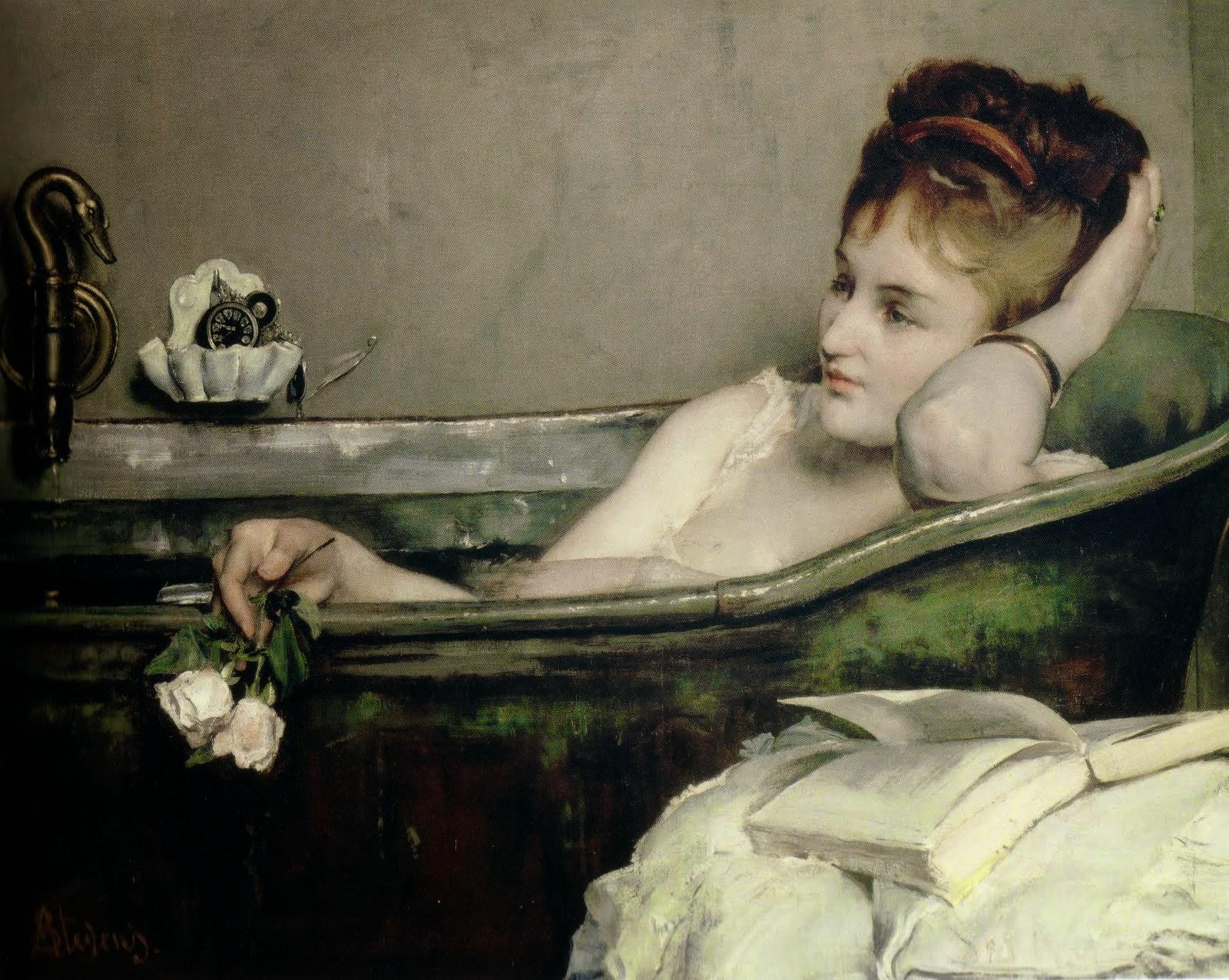 Alfred  Stevens C   C  Paris C  Mus C Ae  d'Orsay