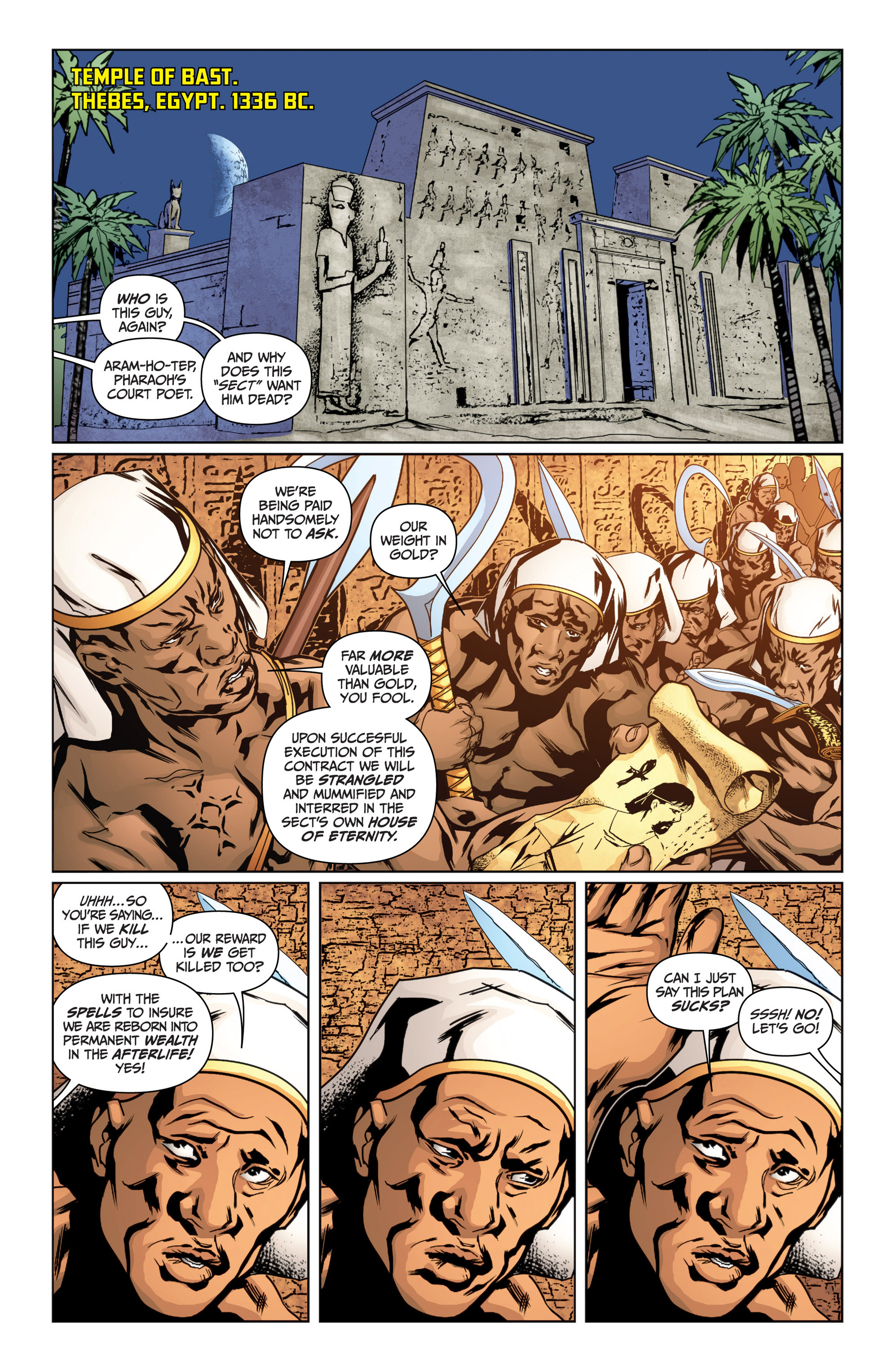Read online Archer and Armstrong comic -  Issue #15 - 4