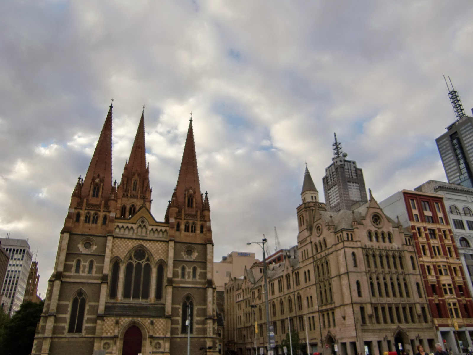 [澳洲工作假期系列] 聖保羅教堂 & 聯邦廣場 3