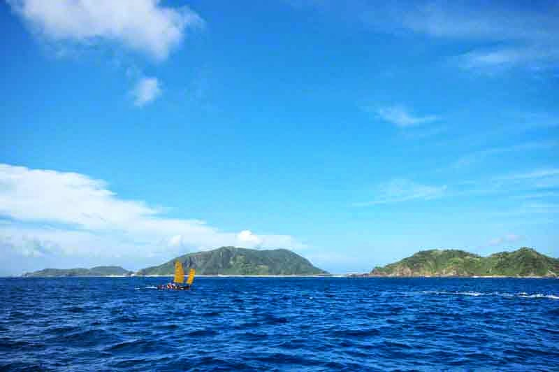 Kerama Islands,sabani sailing,blue sky