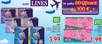 Logo Vola con Lines e vinci Gift card Volagratis da 100 €