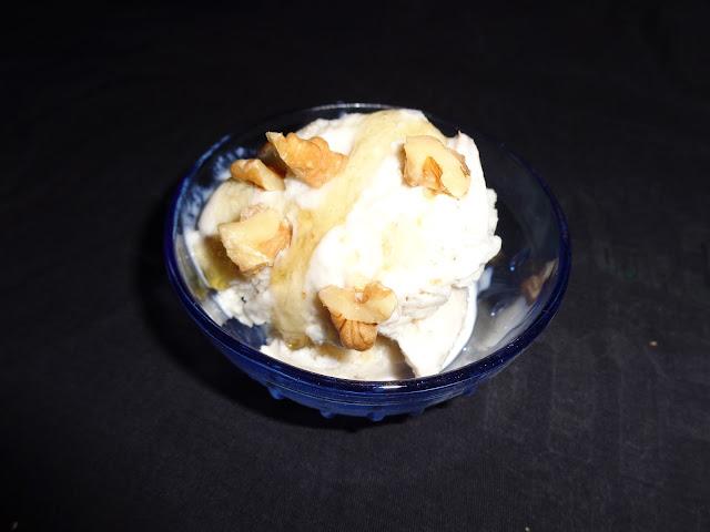 honey banana ice-cream