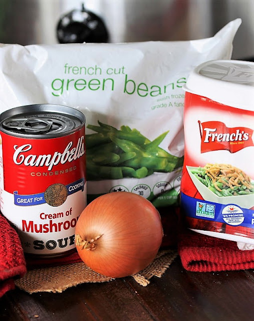 Crock Pot Green Bean Casserole Ingredients Image