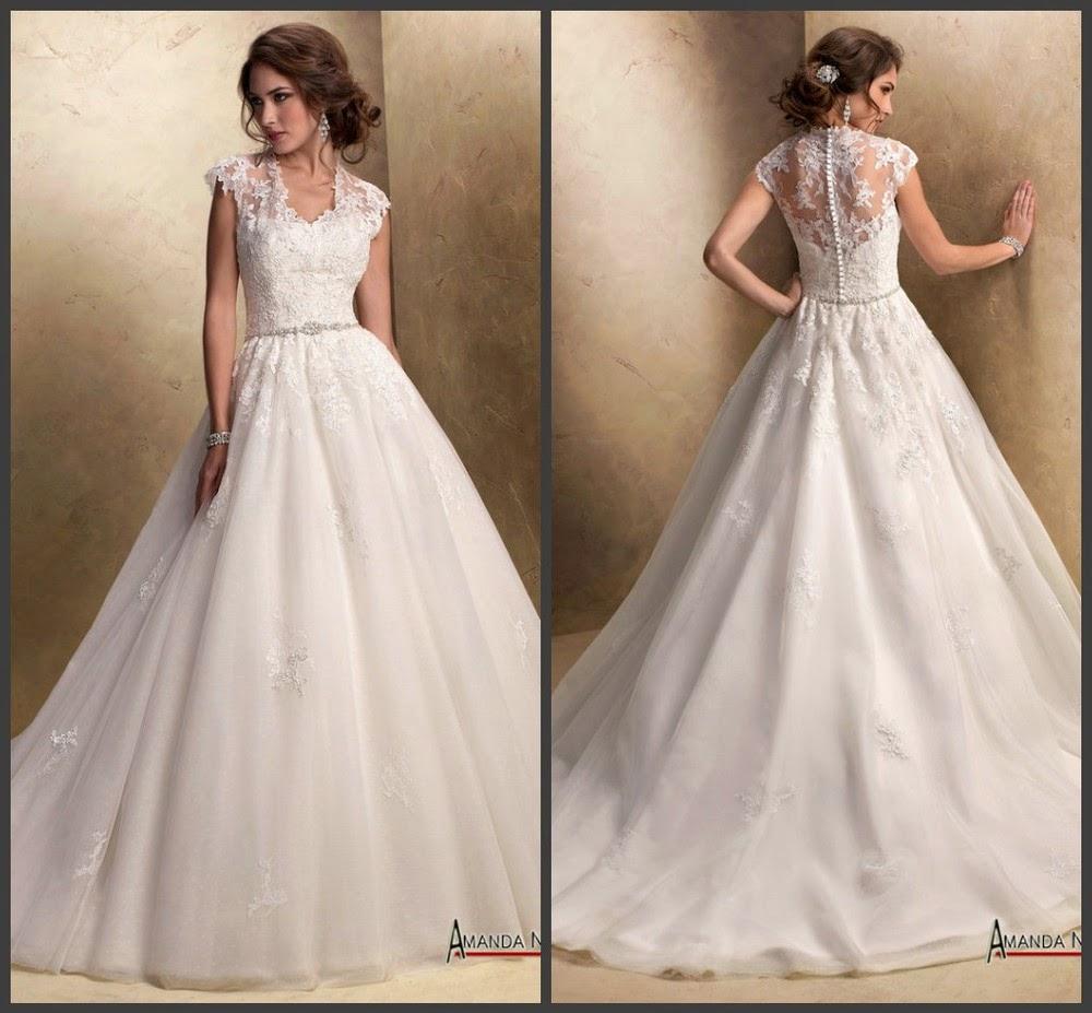 New Hijab Fashion: Muslim Wedding Dresses