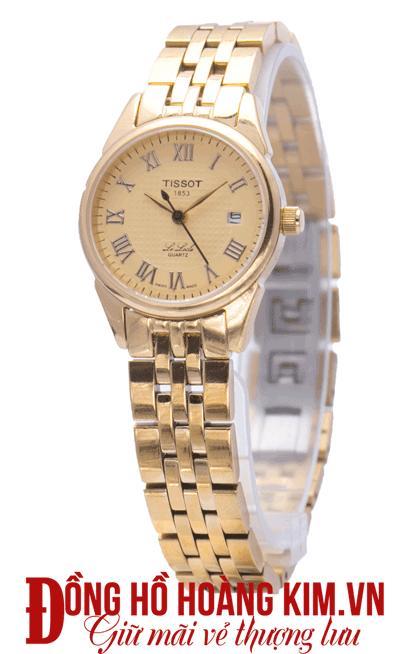 đồng hồ tissot nữ dây sắt cao cấp